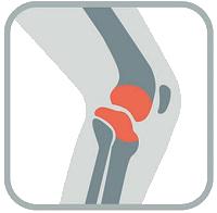 knee injury icon