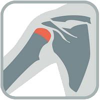 shoulder injury icons