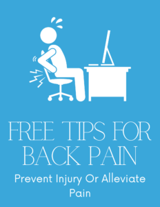 Back Pain Free Tips