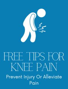 Knee Pain Free Tips