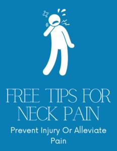 Neck Pain Free Tips